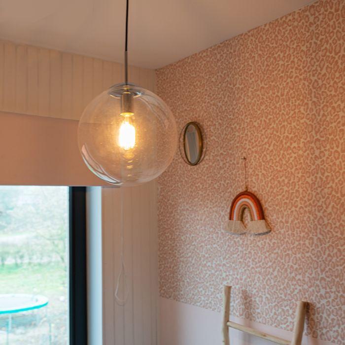 Modern-Pendant-Lamp-Chrome-with-Glass-Shade---Ball-30