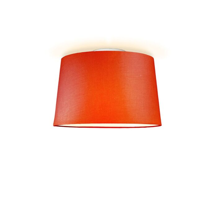 Ceiling-Lamp-Ton-Round-40-Red
