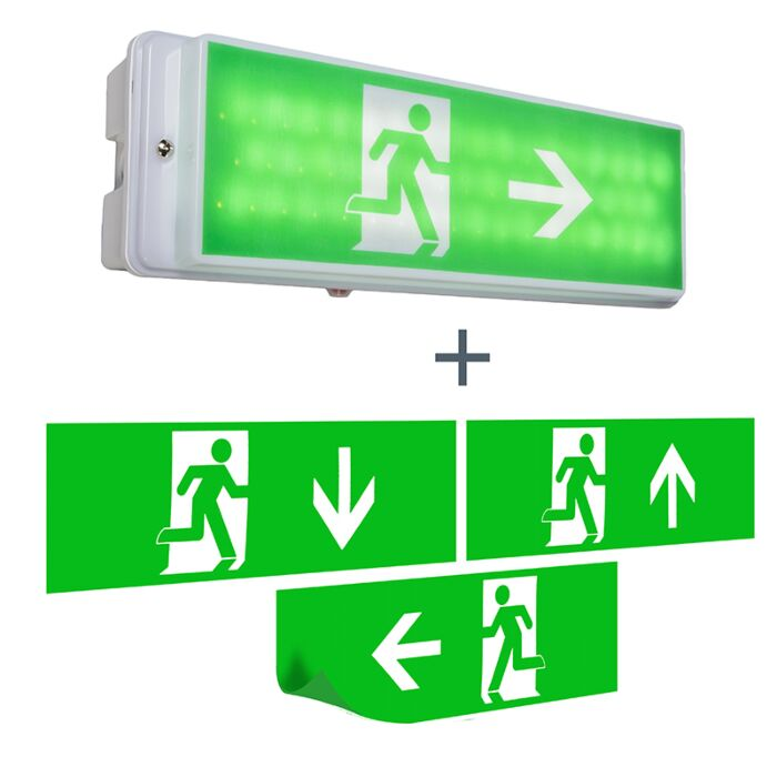 Emergency-exit-wall-light-incl.-LED-IP65---Emergency-2