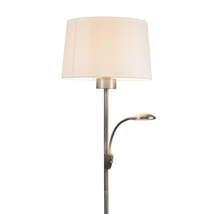 Floor-Lamp-Trento-Combi-Steel-with-Shade