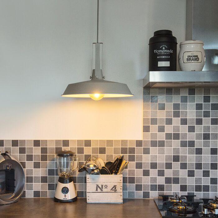 Pendant-Lamp-Living-40cm-Grey/Brown