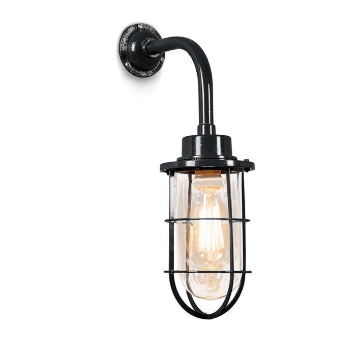 Wall-Lamp-Port-Black