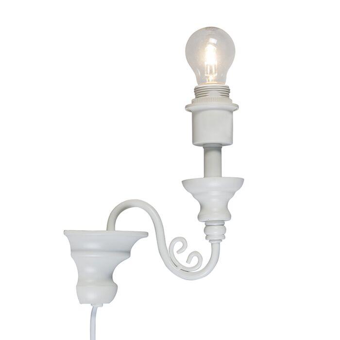 Wall-Lamp-Marilla-E27-White