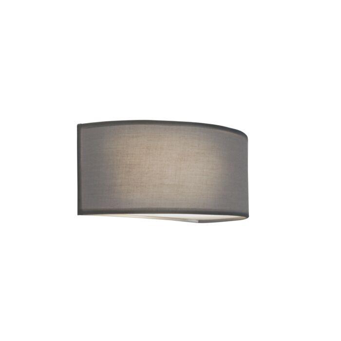 Wall-Lamp-Drum-Basic-Half-Round-Grey