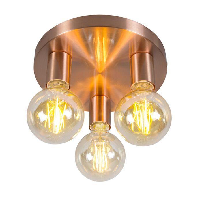 Art-Deco-Ceiling-Lamp-Copper---Facil-3