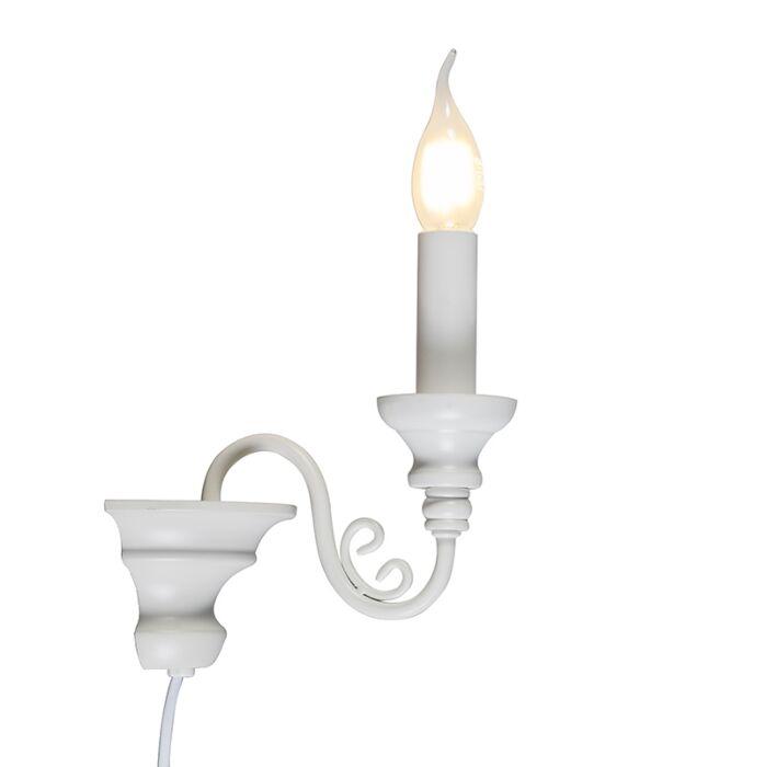 Wall-Lamp-Marilla-E14-White