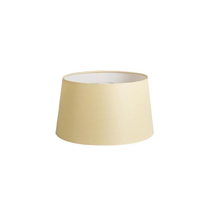 Shade-Round-35cm-DS-E27-Linen-Cream