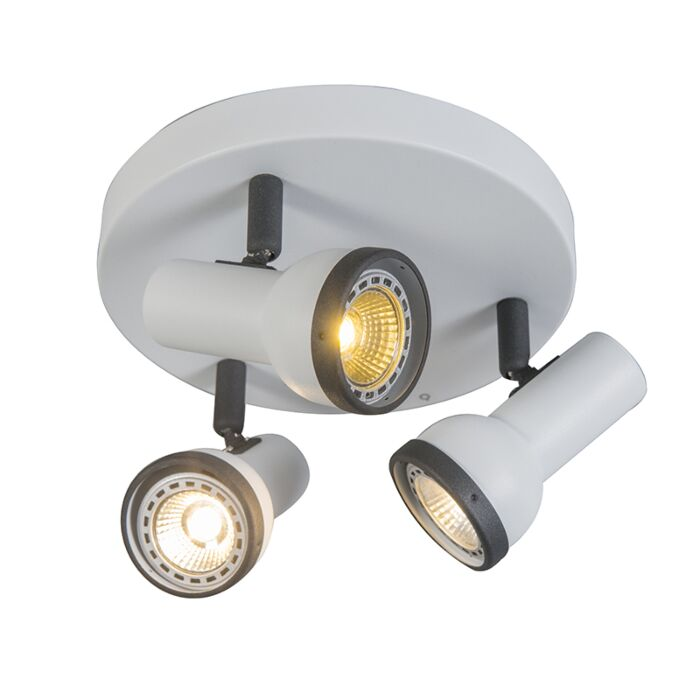 Spotlight-Simplex-3-Round-White