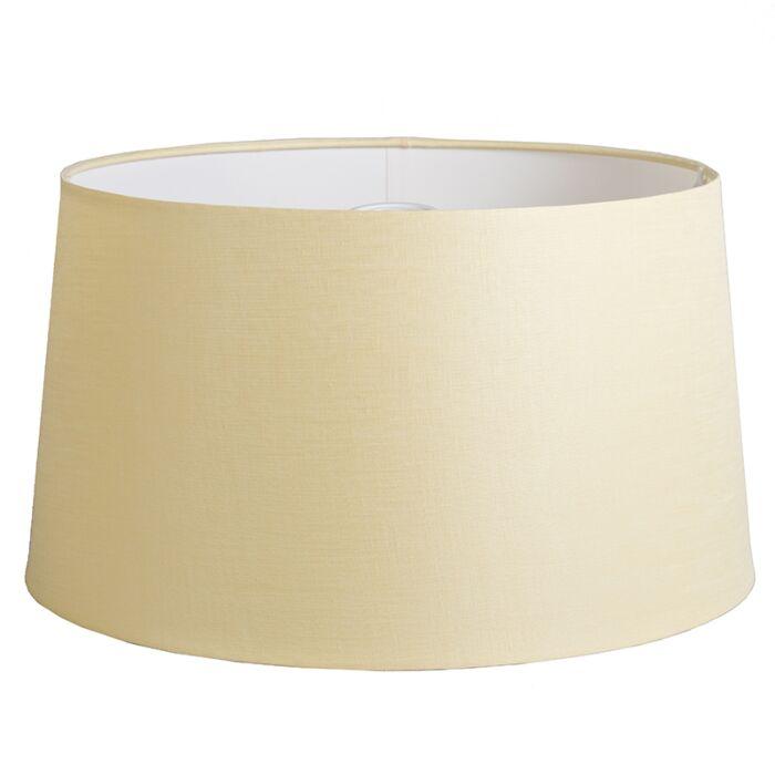 Shade-Round-45cm-DS-E27-Linen-Cream