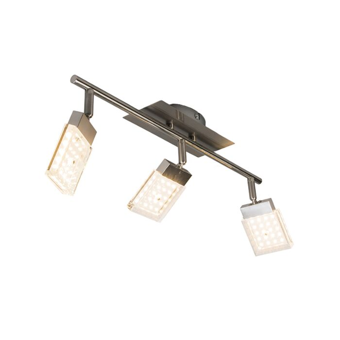 Spotlight-Robo-3-LED-Steel