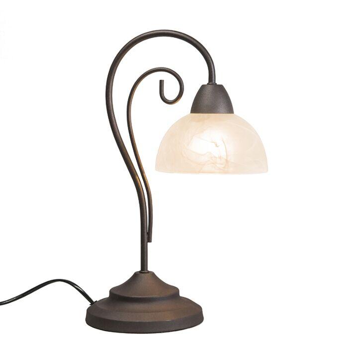 Table-Lamp-Dallas-1-Rust