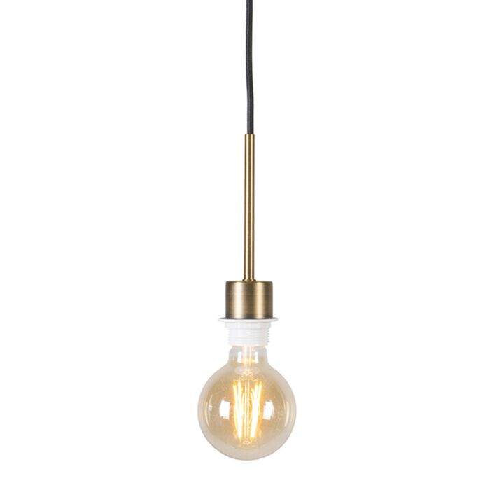 Modern-Pendant-Lamp-Bronze-with-Black-Cord---Combi-1