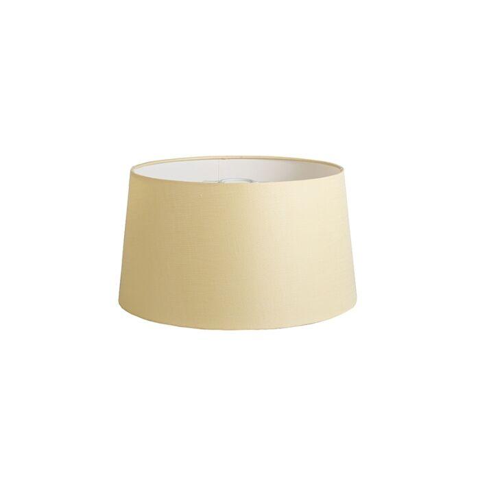 Shade-Round-40cm-DS-E27-Linen-Cream