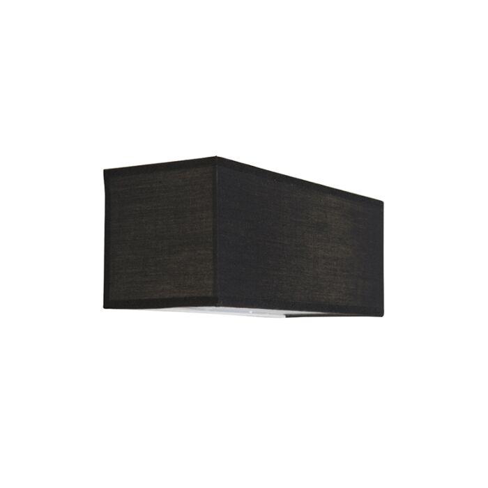 Wall-Lamp-Drum-Basic-Rectangle-Black