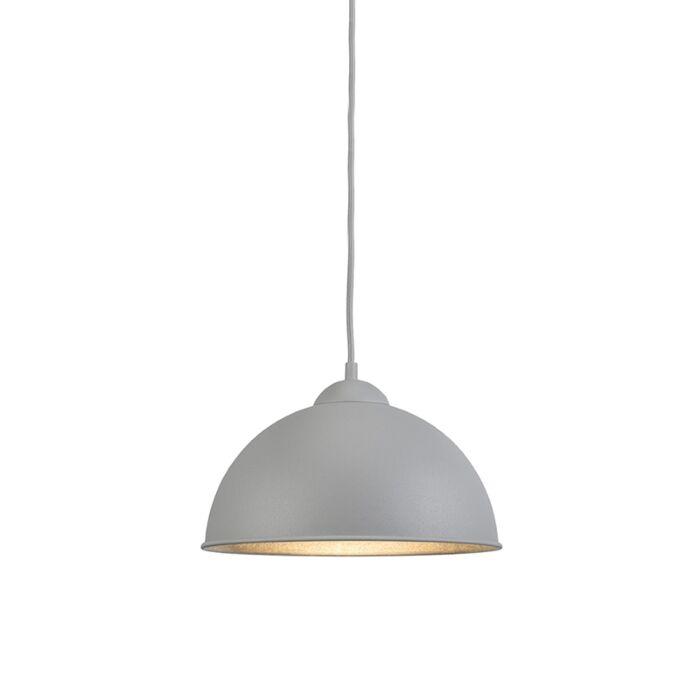 Modern-Round-Pendant-Lamp-Grey---Magna-Basic