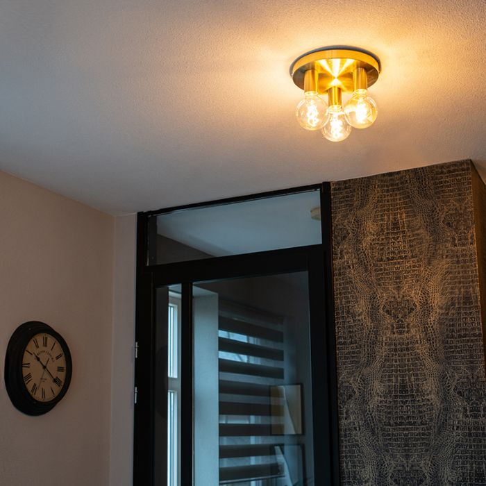 Art-Deco-Ceiling-Lamp-Gold---Facil-3