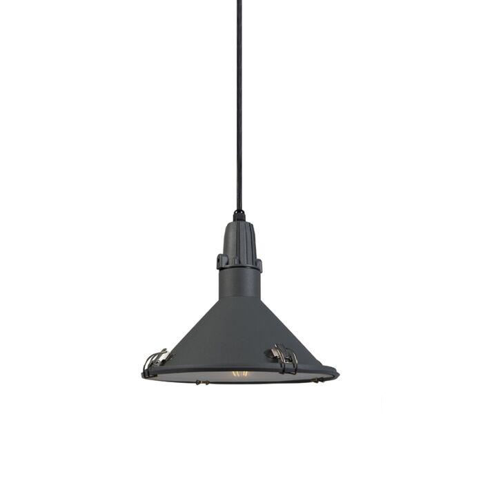Industrial-hanging-lamp-gray-IP44---Vida