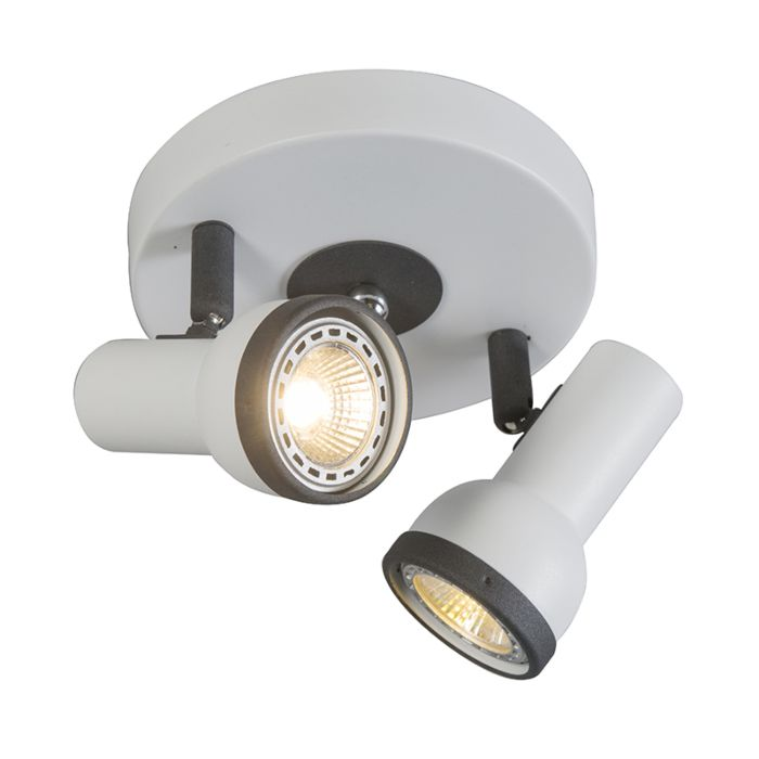 Spotlight-Simplex-2-Round-White