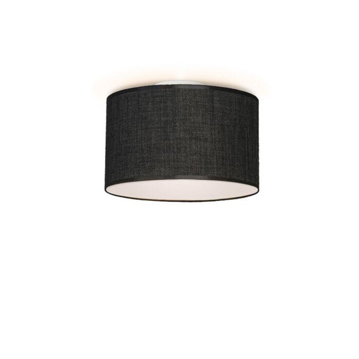 Ceiling-Lamp-Drum-35-Dark-Grey