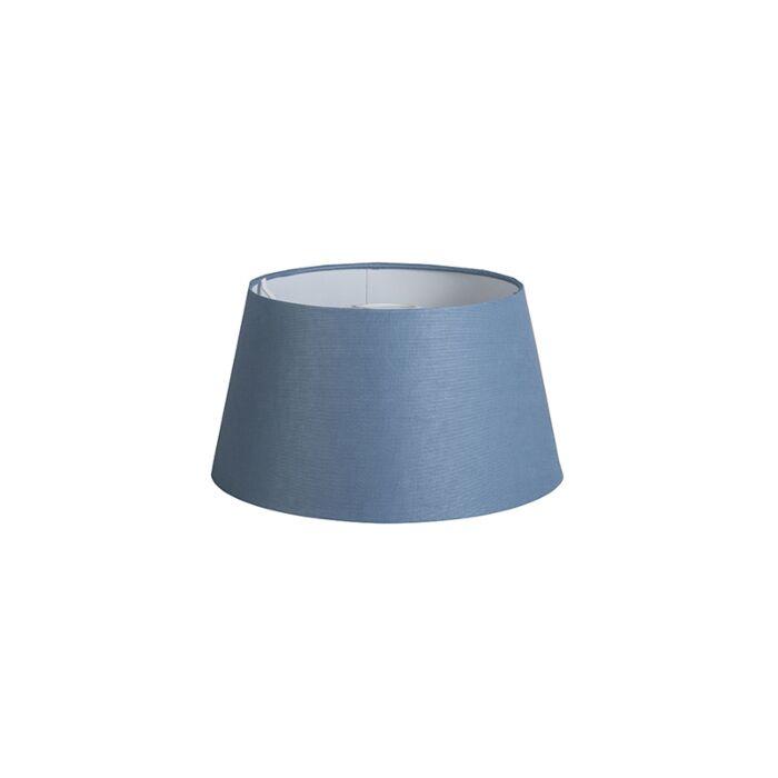 Shade-Round-32cm-DS-E27-Linen-Blue