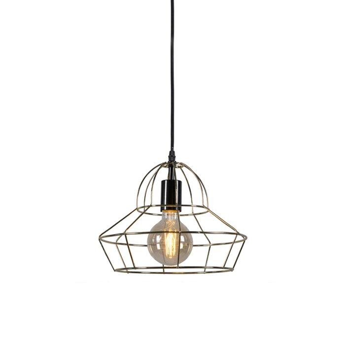 Pendant-Lamp-Frame-D-Gold