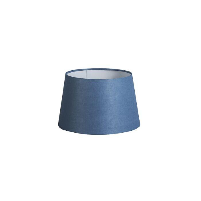 Shade-Round-25cm-DS-E27-Linen-Blue
