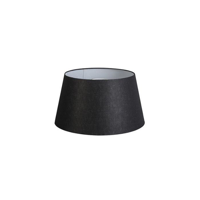 Shade-Round-32cm-DS-E27-Linen-Black