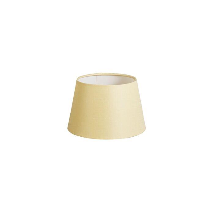 Shade-Round-20cm-DS-E27-Linen-Cream