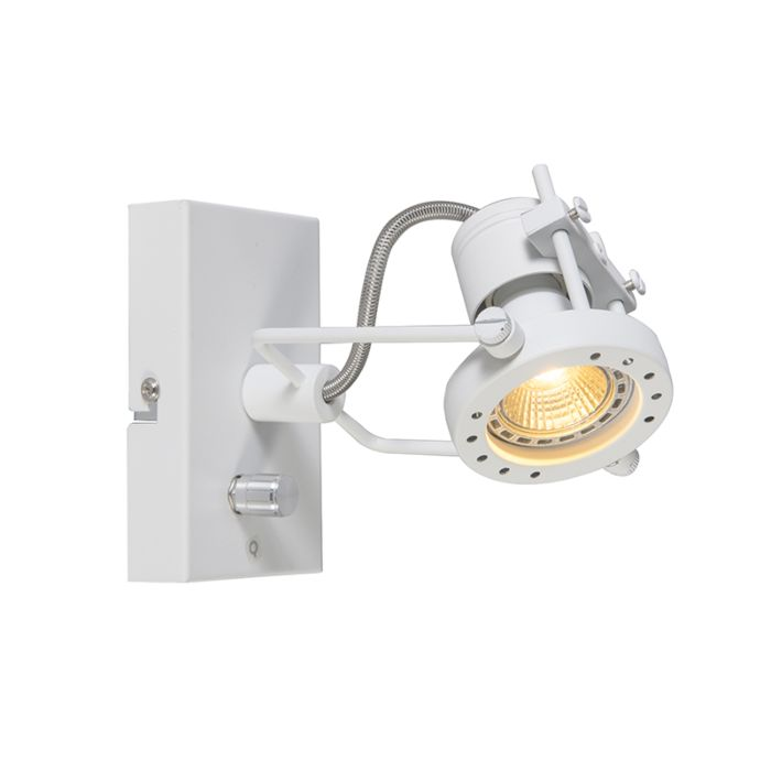 Spotlight-Suplux-1-with-Dimmer-White