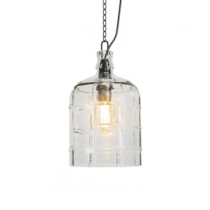 Country-Pendant-Lamp-Clear---Vaso