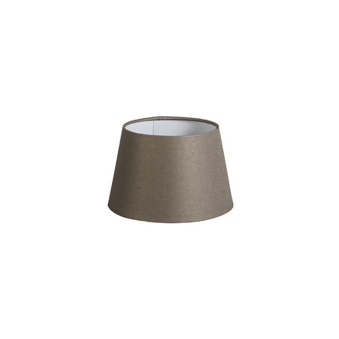 Shade-Round-20cm-DS-E27-Linen-Taupe