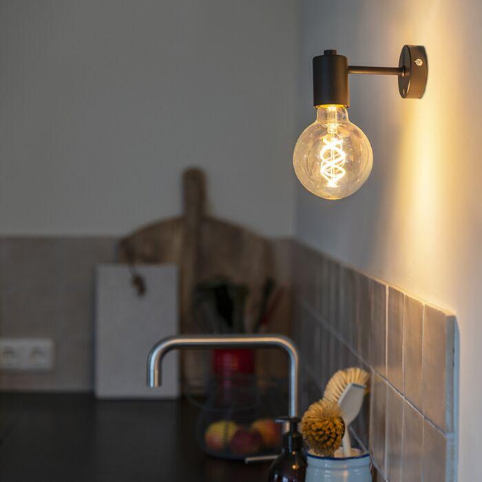 Industrial-Wall-Lamp-Black---Facil-1