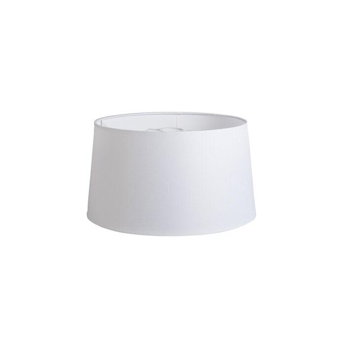 Shade-Round-40cm-DS-E27-Linen-White