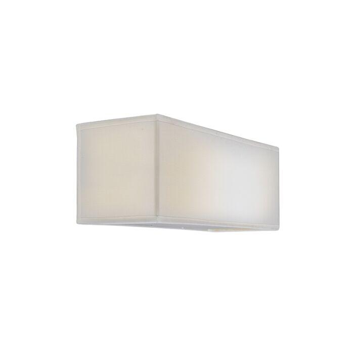 Wall-Lamp-Drum-Basic-Rectangle-Cream