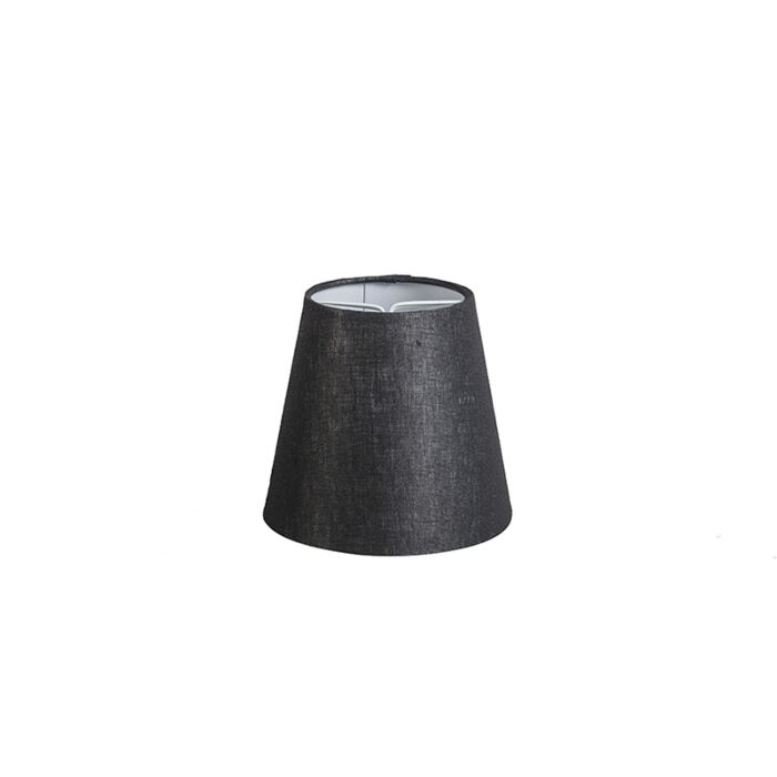 Linen-Clamp-Shade12cm-Black