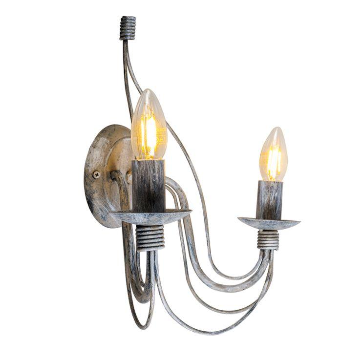 Wall-Lamp-Zero-Branco-2-Antique-Grey