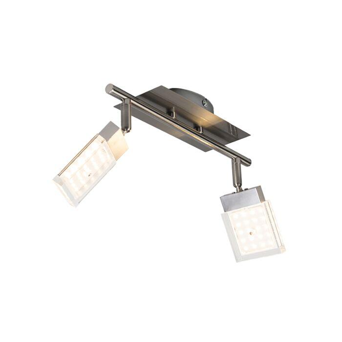 Spotlight-Robo-2-LED-Steel