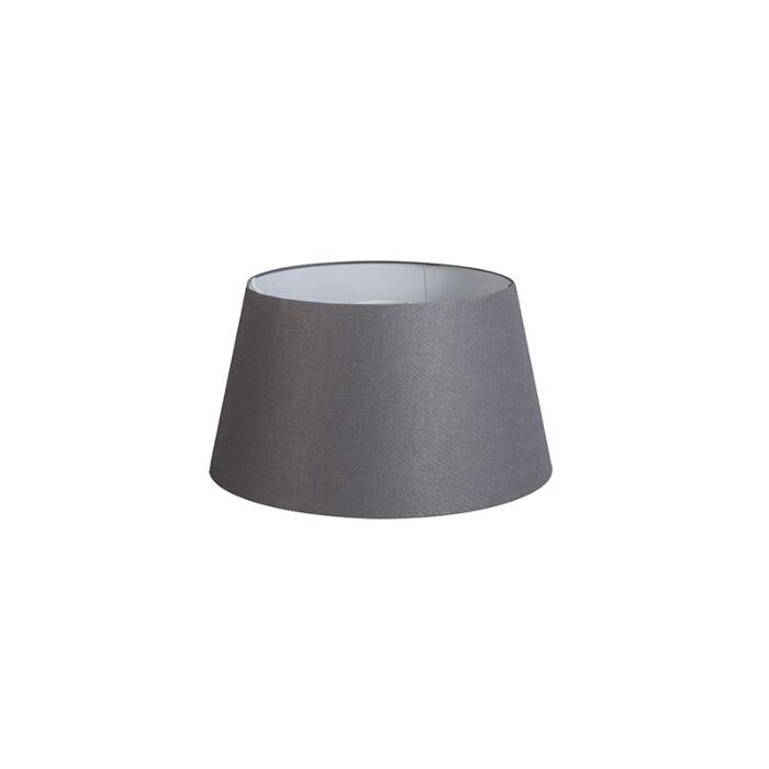 Shade-Round-32cm-DS-E27-Linen-Dark-Grey