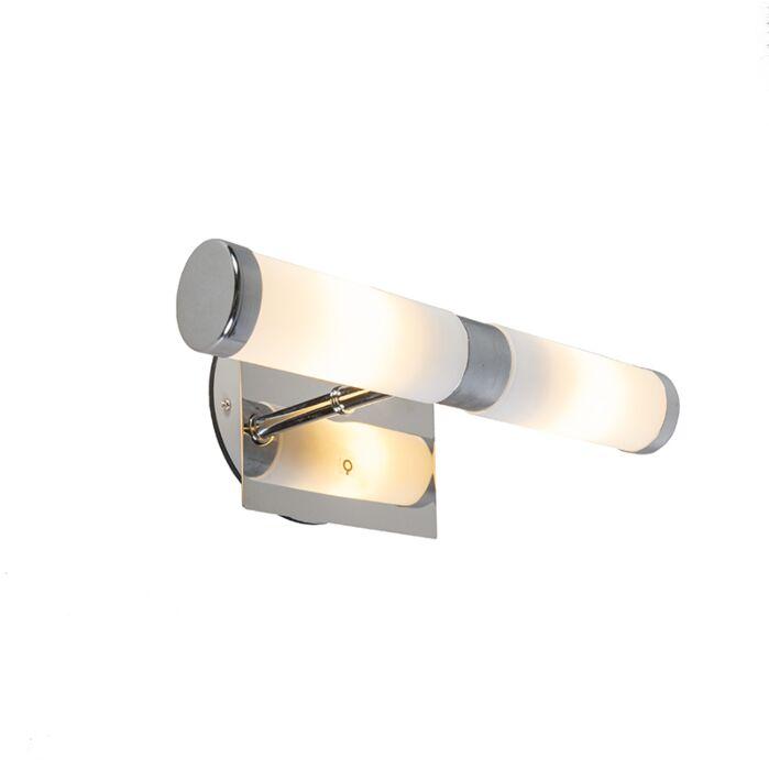 Classic-wall-lamp-chrome-IP44---Bath-2