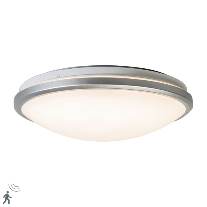 Ceiling-light-gray-incl.-LED-and-motion-detector---Captur