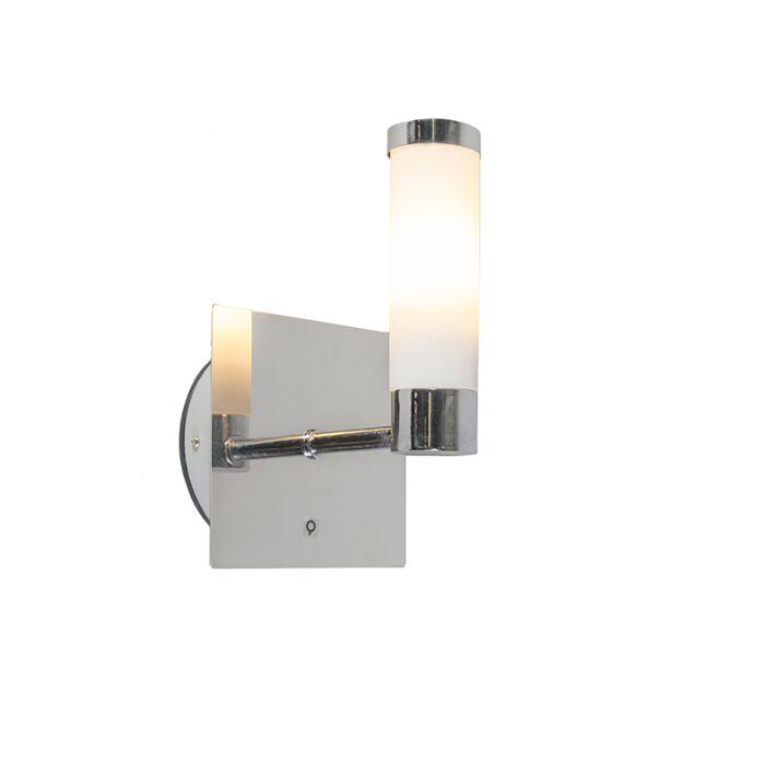 Classic-wall-lamp-chrome-IP44---Bath-1