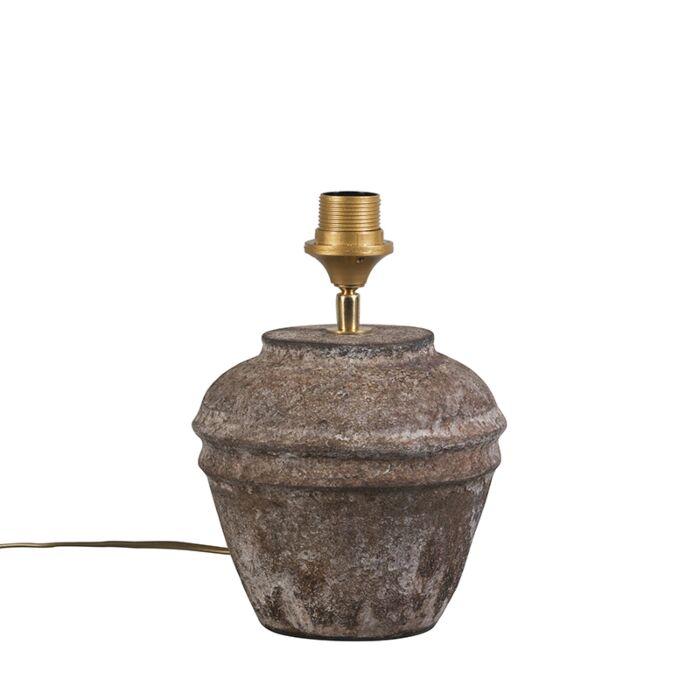 Rural-table-lamp-brown---Arta-XS-vintage