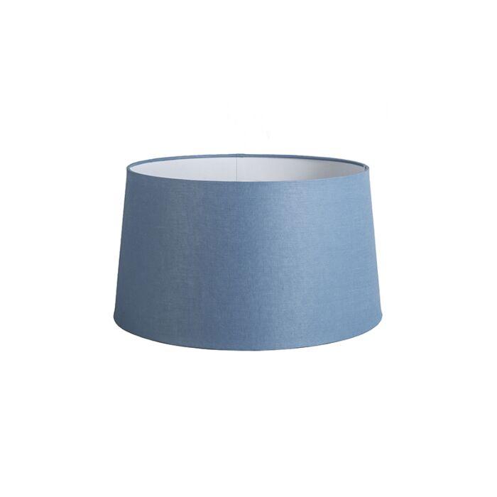 Shade-Round-45cm-DS-E27-Linen-Blue