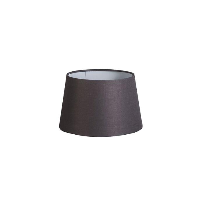 Shade-Round-25cm-DS-E27-Linen-Brown/Grey