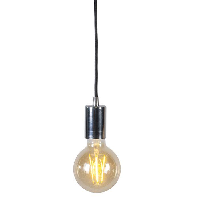 Modern-Pendant-Lamp-Chrome---Facil-1