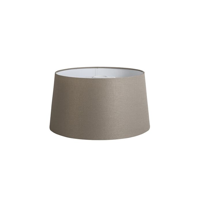 Shade-Round-40cm-DS-E27-Linen-Taupe