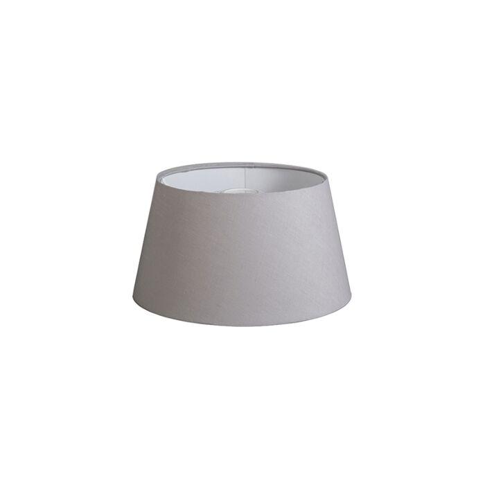 Shade-Round-32cm-DS-E27-Linen-Light-Grey