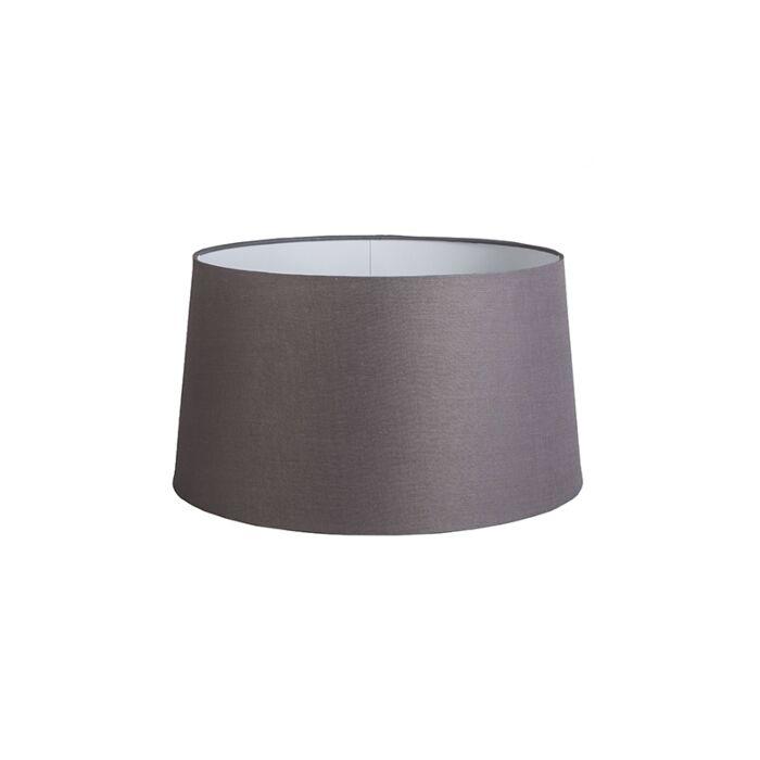 Shade-Round-45cm-DS-E27-Linen-Brown/Grey