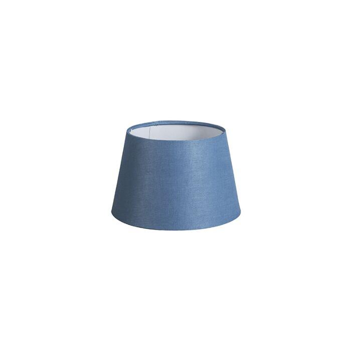 Shade-Round-20cm-DS-E27-Linen-Blue