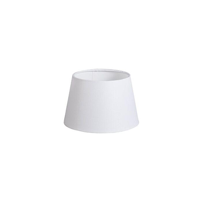 Shade-Round-20cm-DS-E27-Linen-White